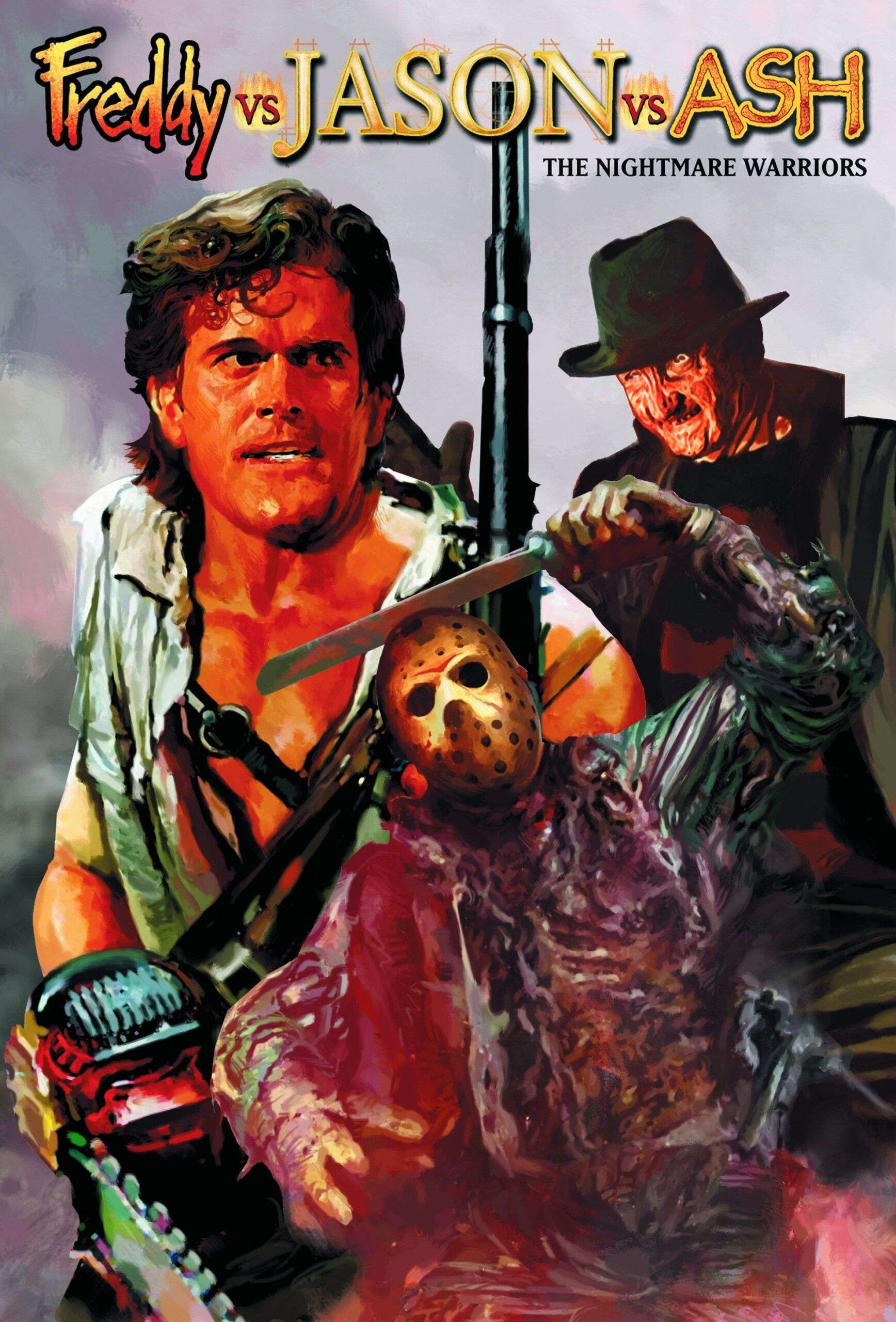 Freddy vs. Jason vs. Ash The Nightmare Warriors